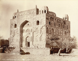 Hyderabad, Sind. Ghulam Shah's Tomb, view from north-east